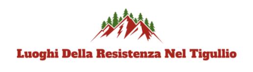 Mappa dei Luoghi della Resistenza nel Tigullio